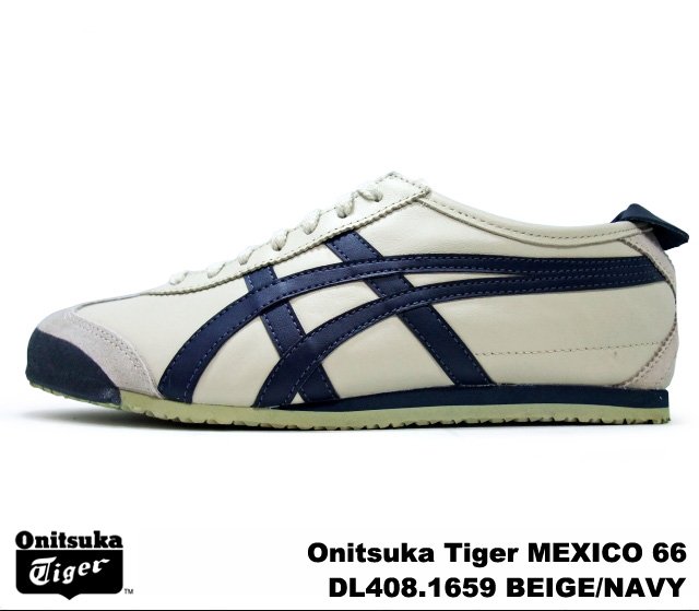 the best attitude 6e702 5c5f5 Onitsuka tiger Mexico 66 Mexican beige navy Onitsuka Tiger MEXICO 66 1659  BEIGE/NAVY men gap Dis sneakers