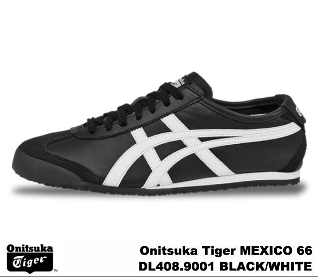 more photos 2a645 5e169 Onitsuka Tiger Mexico 66 Mexico black white Onitsuka Tiger MEXICO 66  DL408-9001 BLACK/WHITE mens Womens sneakers