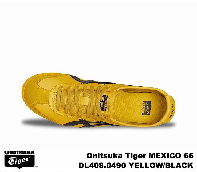 promo code e0793 6e3d9 Onitsuka tiger Mexico 66 Mexico yellow black Onitsuka Tiger MEXICO 66 0490  YELLOW/BLACK men gap Dis sneakers