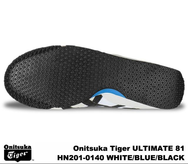 Onitsuka Tiger ultimate 81 ultimate 81 Onitsuka Tiger ULTIMATE 81 HN201-0140 WHITE/BLUE/BLACK men's women's sneakers, white blue black