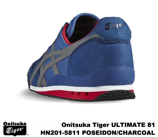 brand new ebe00 b5b53 Onitsuka Tiger ultimate 81 ultimate 81 Poseidon charcoal Onitsuka Tiger  ULTIMATE 81 HN201-5811 POSEIDON/CHARCOAL mens Womens sneakers