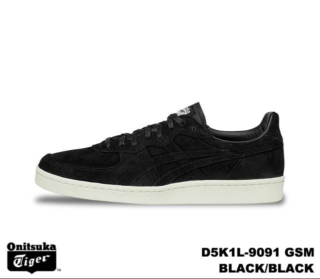 Onitsuka Tiger GSM sneakers men's dire Sam black Onitsuka Tiger D5K 1L-9091  BLACK/BLACK