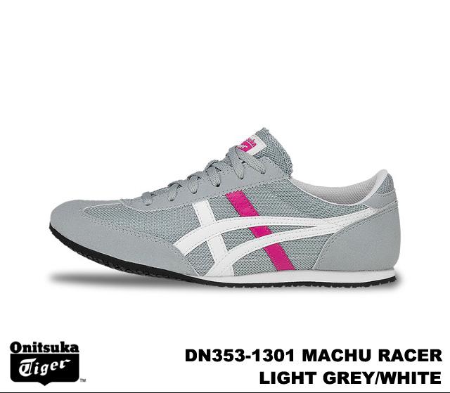wholesale dealer 6cb57 2eec5 Onitsuka Tiger Machu racer women's sneaker light grey white Onitsuka Tiger  MACHU RACER DN353-1301 LIGHT GREY/WHITE