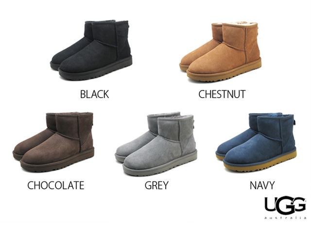 91d96cedb3d Ugg boots classic mini II Black chestnut chocolate grey Navy Womens  Sheepskin boots Sheepskin UGG Australia 1016222 WOMENS CLASSIC MINI 2 BLACK  ...