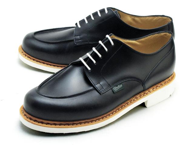 在法國 Paraboot 香波堡 152110 海洋海軍作出在法國製造的 Paraboot 尚博爾海洋海軍 U 提示男鞋