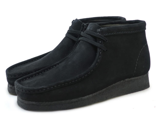 Black Clarks Suede Premium Wallabee Kulaki Boots Boot Wallaby One r8w8q5Sxn0