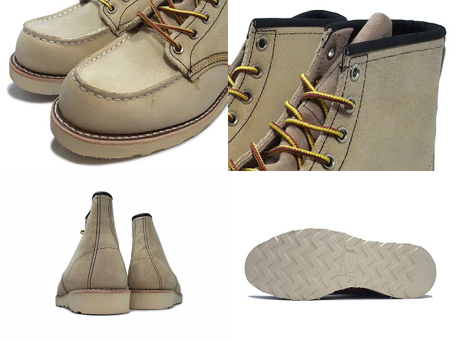 """Red Wing 8173 RED WING #8173 CLASSIC WORK 6 """"MOC-TOE Red Wing classical 6 inch MOC toe"""