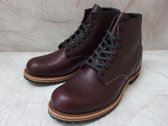 """Red Wing Beckman boots 9011 RED WING #9011 BECKMAN BOOT 6 """"ROUND-TOE Red Wing 6 inch plant"""