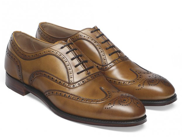 チーニー 靴 アーサー III オリジナル チェスナット カーフレザー ブローグ ウィングチップ メンズ シューズ イギリス製 JOSEPH CHEANEY & SONS Arthur III Full Brogue Original Chestnut Calf Leather MADE IN ENGLAND