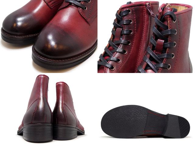 Rudi 花邊靴子黑色棕色酒男子休閒皮靴 RAUDI R 61211 黑色棕色酒所有的顏色