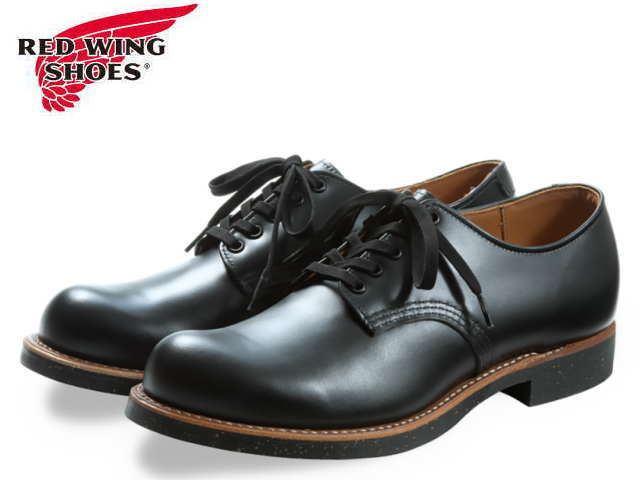 レッドウィング オックスフォード 8054 RED WING FOREMAN OXFORD RW-8054 BLACK CHROME ブラック レッドウイング メンズ ブーツ men's boots【送料無料!】【ケア用品プレゼント!】