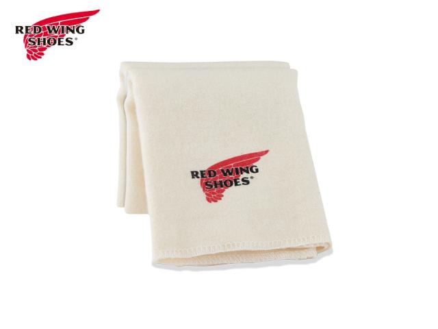 レッドウィング 全店販売中 BOOT CARE CLOTH WING RED ブーツケアクロス 割引も実施中 97195