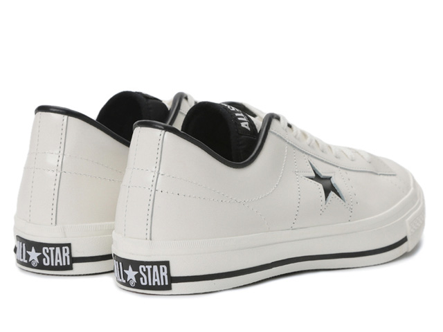 CONVERSE ONE STAR J OX 32346510 WHITE BLACK MADE IN JAPAN made in Converse  one star J オックスホワイトブラックメンズスニーカー Japan a11d40b6c