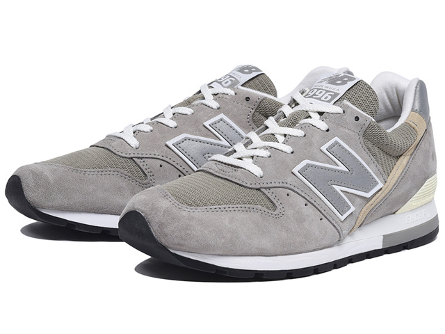 size 40 6a681 971a4 new balance M996 GY newbalance M996GY GRAY MADE IN USA made in the New  Balance 996 gray men gap Dis sneakers United States