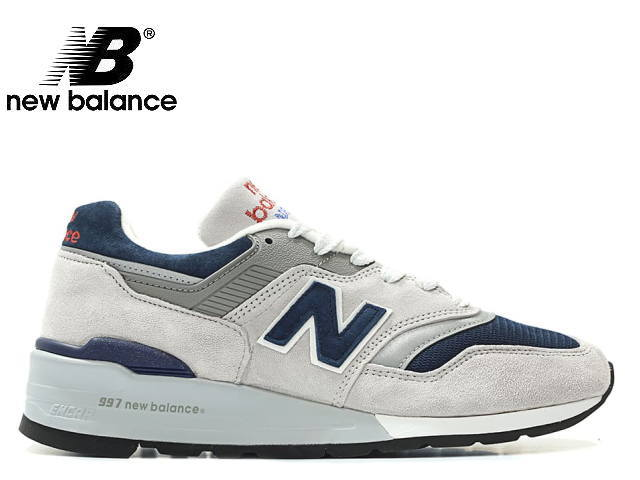 ニューバランス 997 グレー メンズ スニーカー new balance M997 WEB GRAY newbalance M997