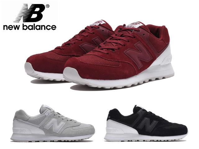 competitive price 74730 fb1e4 New Balance 574 black gray Mercury red men gap Dis sneakers new balance  ML574 WA WB WC newbalance ML574WA ML574WB ML574WC BLACK GRAY MERCURY RED