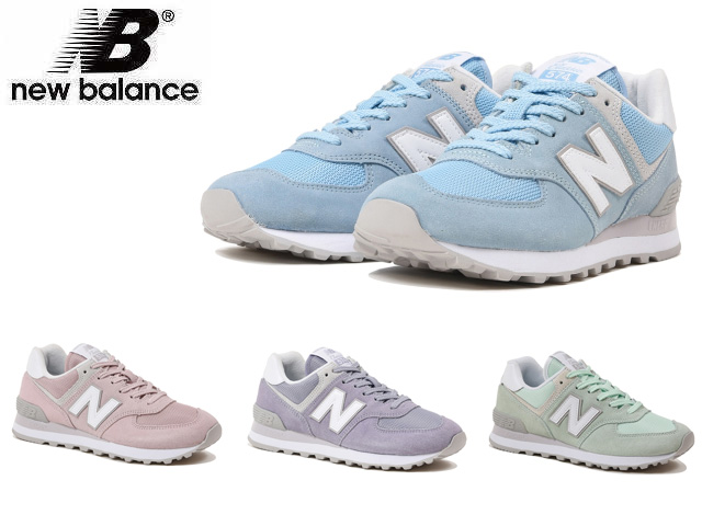 separation shoes eef26 42a20 New Balance 574 pastel blue pastel green pastel pink pastel purple Lady's  sneakers shoes new balance WL574 ESB ESM ESP ESV newbalance WL574ESB ...