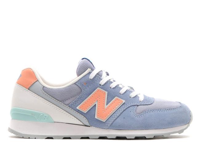 watch 58625 34e88 PREMIUM ONE  New Balance 996 blue orange Lady s sneakers new balance ...