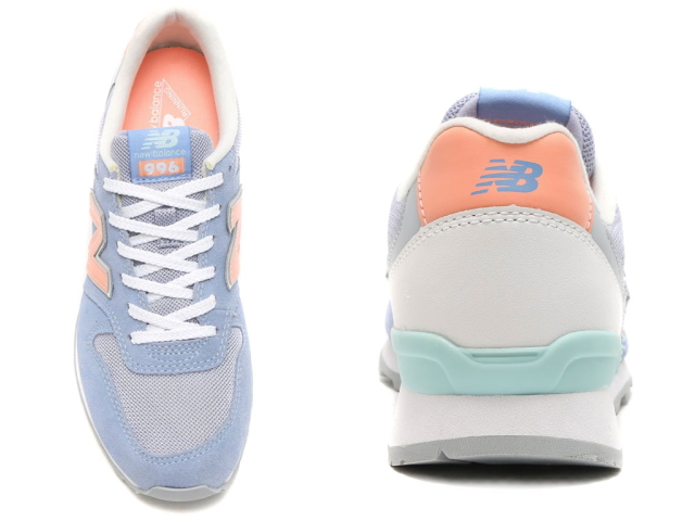 best loved 26a3e 6fddb ... New Balance 996 blue orange Lady s sneakers new balance WR996 JG  newbalance WR996JG BLUE ORANGE