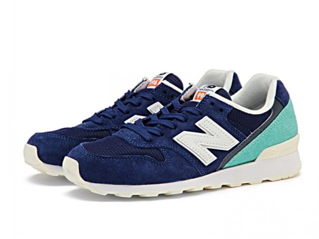 新平衡 996 藍色 Aqua 女式運動鞋新平衡 WR996 JP newbalance WR996JP 藍色/AQUA
