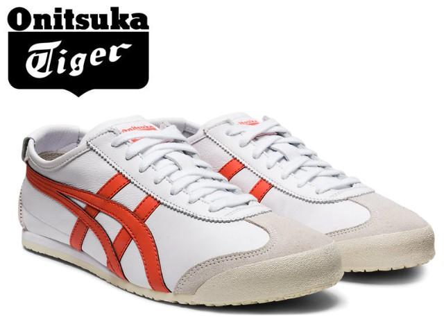 オニツカタイガー メキシコ66 スニーカー メンズ レディース Onitsuka Tiger MEXICO 66 106 WHITE RED SNAPPERZuTPiOkX