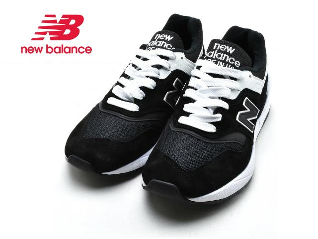 ニューバランス 997 new balance メンズ M997 SBW ブラック made in USA men's sneaker newbalance メンズ スニーカー