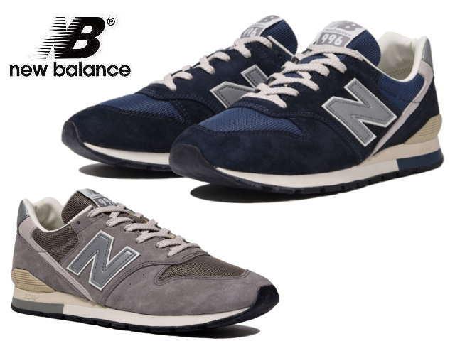 ga online loopschoenen promotiecode New Balance 996 gray navy newbalance men CM996 GY GN men's sneaker men  sneakers