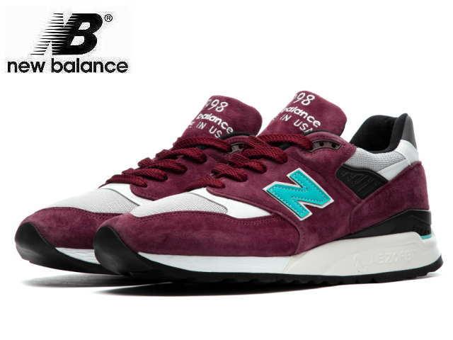 ニューバランス 998 バーガンディ new balance メンズ M998 AWA made in USA men's sneaker newbalance メンズ スニーカー
