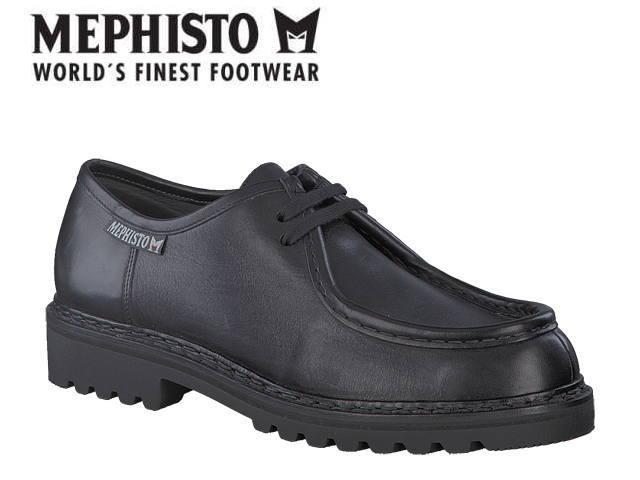 メフィスト 靴 ペッポ MEPHISTO PEPPO SUP-HYDRO BLACK コンフォート ウォーキング メンズ