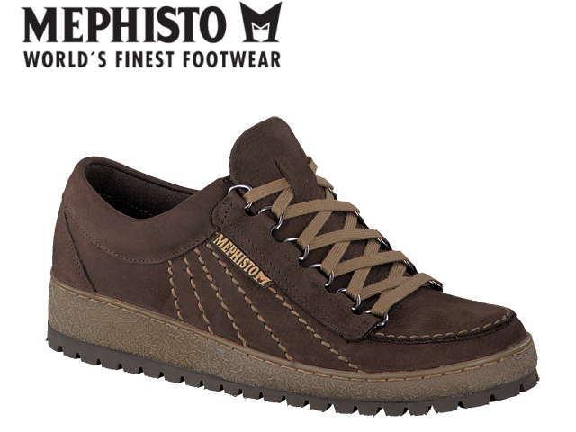 メフィスト 靴 レインボー MEPHISTO RAINBOW SPORTBUCK DARK BROWN コンフォート ウォーキング メンズ