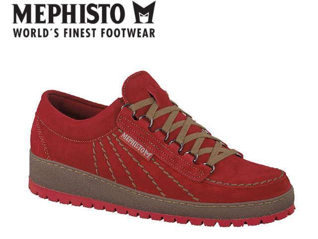 メフィスト 靴 レインボー MEPHISTO RAINBOW VEROURS BURNT ORANGE コンフォート ウォーキング メンズ