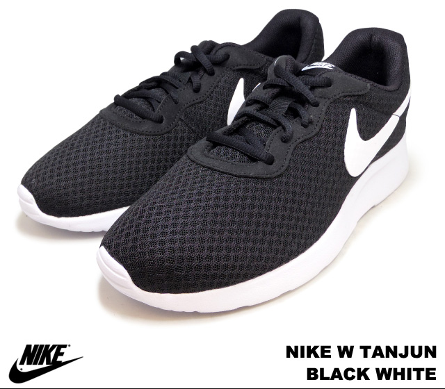release date: another chance unique design Tanjung black and white Womens NIKE W TANJUN 812655-011 BLACK WHITE Womens  Nike