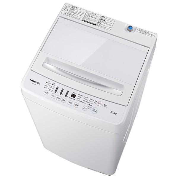 【送料無料】Hisense HW-G60A [全自動洗濯機 (洗濯6.0kg)]