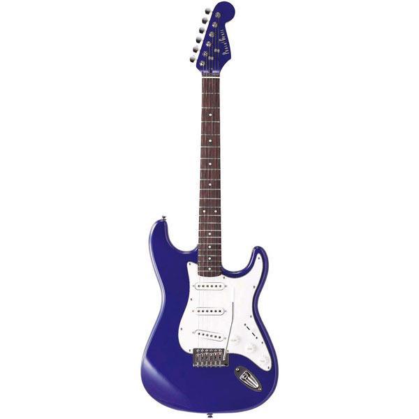 【送料無料】PhotoGenic エレキギター メタリックブルー ST-180