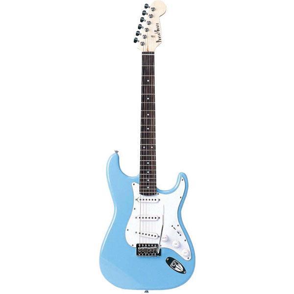【送料無料】PhotoGenic エレキギター ライトブルー ST-180