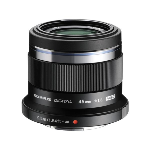 【送料無料】OLYMPUS 45mm F1.8 BLK (ブラック) [単焦点中望遠レンズ (45mm F1.8 )]