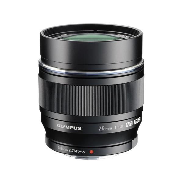 【送料無料】OLYMPUS ED 75mm F1.8 BLK (ブラック) [単焦点望遠レンズ (75mm F1.8)]