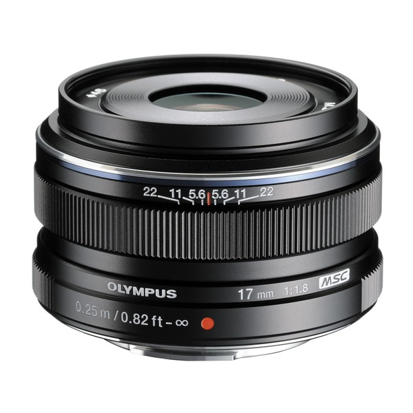 【送料無料】OLYMPUS 17mm F1.8 BLK (ブラック) [単焦点レンズ (17mm F1.8)]