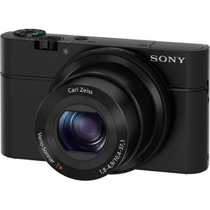 【送料無料】SONY DSC-RX100 ブラック Cyber-shot(サイバーショット) [コンパクトデジタルカメラ (2020万画素)]
