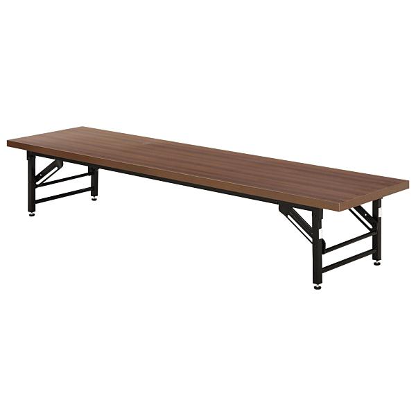【送料無料】不二貿易 94462 会議テーブル (ロータイプ) 4533D【同梱配送不可】【代引き不可】【沖縄・北海道・離島配送不可】