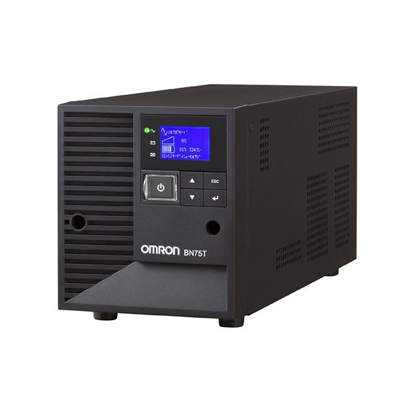 【送料無料】OMRON BN75T [無停電電源装置 据置型(UPS)] 【同梱配送不可】【代引き・後払い決済不可】【沖縄・離島配送不可】