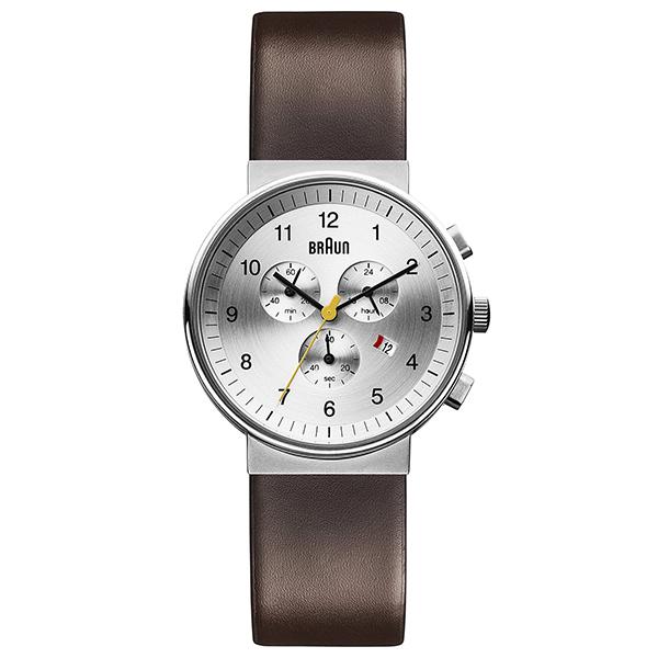 【送料無料】BRAUN BN0035SLBRG シルバー/ブラウン BN0035シリーズ [腕時計] 【並行輸入品】