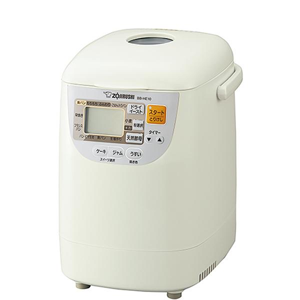 【送料無料】象印 BB-HE10-WA ホワイト パンくらぶ [ホームベーカリー(1斤)]