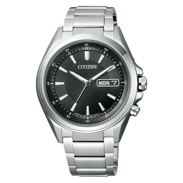 CITIZEN AT6040-58E アテッサ [エコ・ドライブ電波時計] 腕時計 メンズ