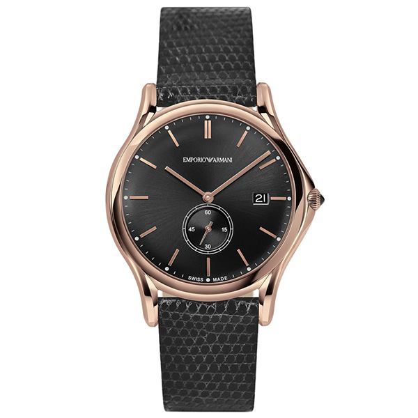 EMPORIO ARMANI ARS1003 ダークグレー [クォーツ腕時計(メンズ)] 【並行輸入品】