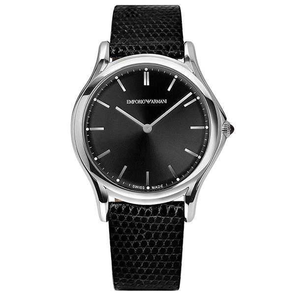 【送料無料】EMPORIO ARMANI ARS2001 ブラック [クォーツ腕時計(ユニセックス)] 【並行輸入品】