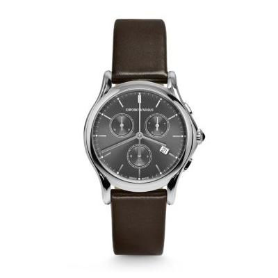 【送料無料】EMPORIO ARMANI ARS6000 ライトグレー×ダークブラウン [クォーツ腕時計(ユニセックス)] 【並行輸入品】