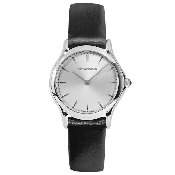 EMPORIO ARMANI ARS7013 シルバー×ブラック [クォーツ腕時計(レディース)] 【並行輸入品】
