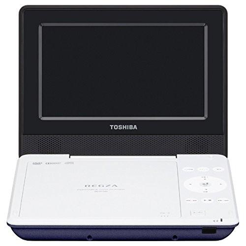 【送料無料】東芝 SD-P710SL ブルー REGZA [7V型LEDワイド液晶ポータブルDVDプレーヤー]