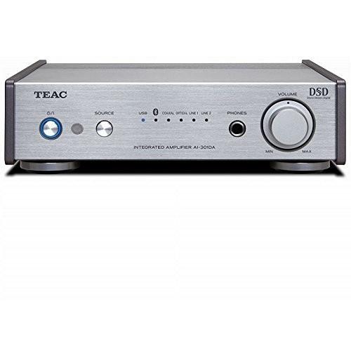 【送料無料】TEAC AI-301DA-SP-S シルバー[プリメインアンプ (ハイレゾ音源対応)]